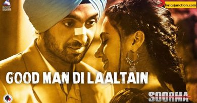 Good Man Di Laltain Lyrics