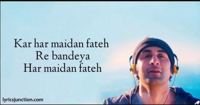 Kar Har Maidaan Fateh Lyrics